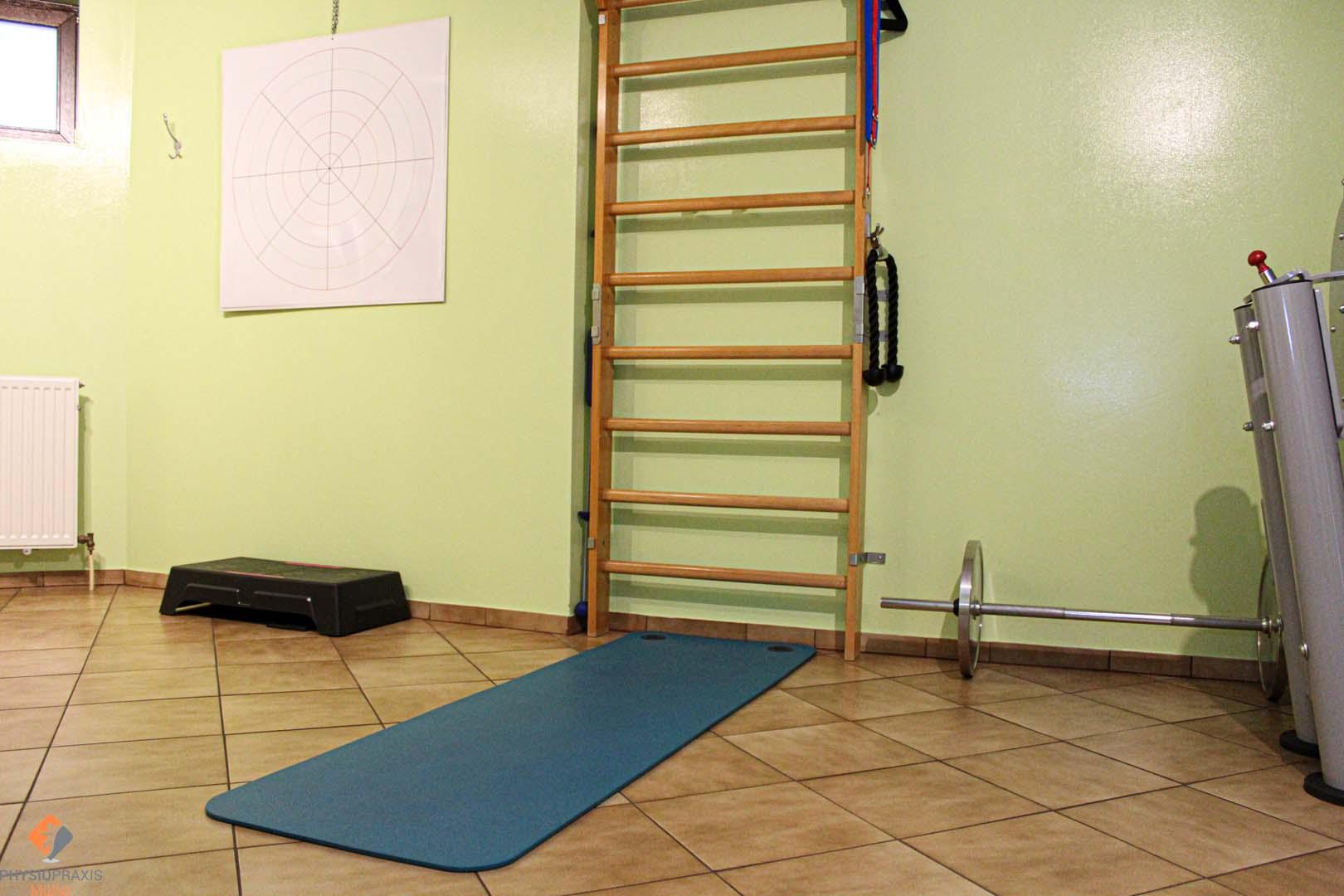 Trainingsraum - Koordinationstraining, Kraft und Ausdauer